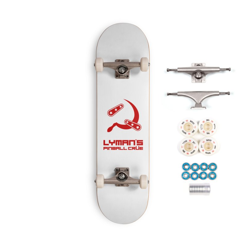 Flipper and Sickle Accessories Complete - Premium Skateboard by Lymans Tavern