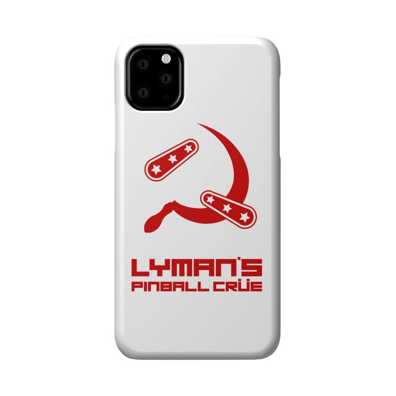 Flipper and Sickle Accessories Phone Case by Lymans Tavern
