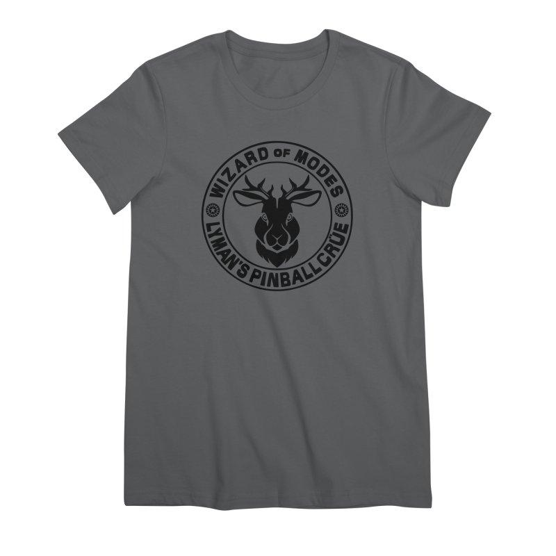 Wizard of Modes Black Women's T-Shirt by Lymans Tavern