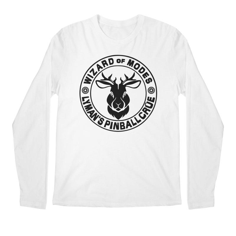 Wizard of Modes Black Men's Regular Longsleeve T-Shirt by Lymans Tavern