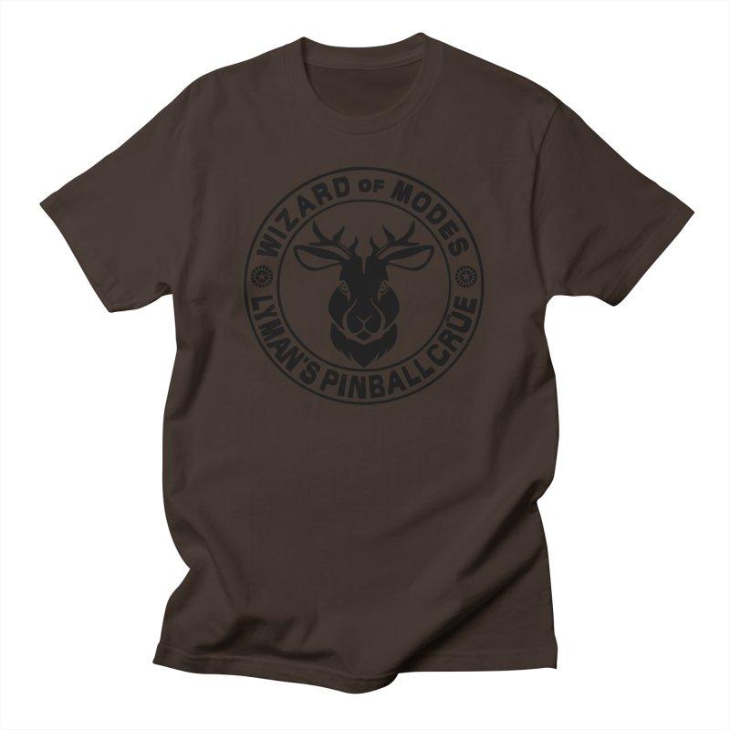 Wizard of Modes Black Men's T-Shirt by Lymans Tavern