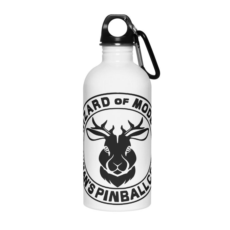 Wizard of Modes Black Accessories Water Bottle by Lymans Tavern