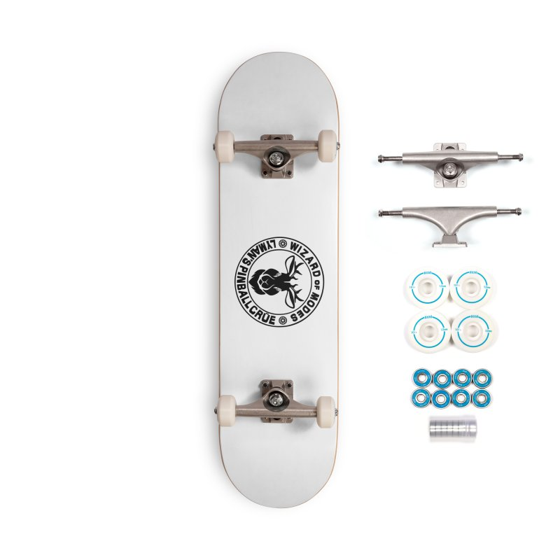 Wizard of Modes Black Accessories Skateboard by Lymans Tavern
