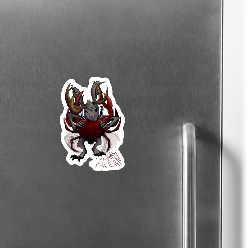 Jackelope and Crab Accessories Magnet by Lymans Tavern