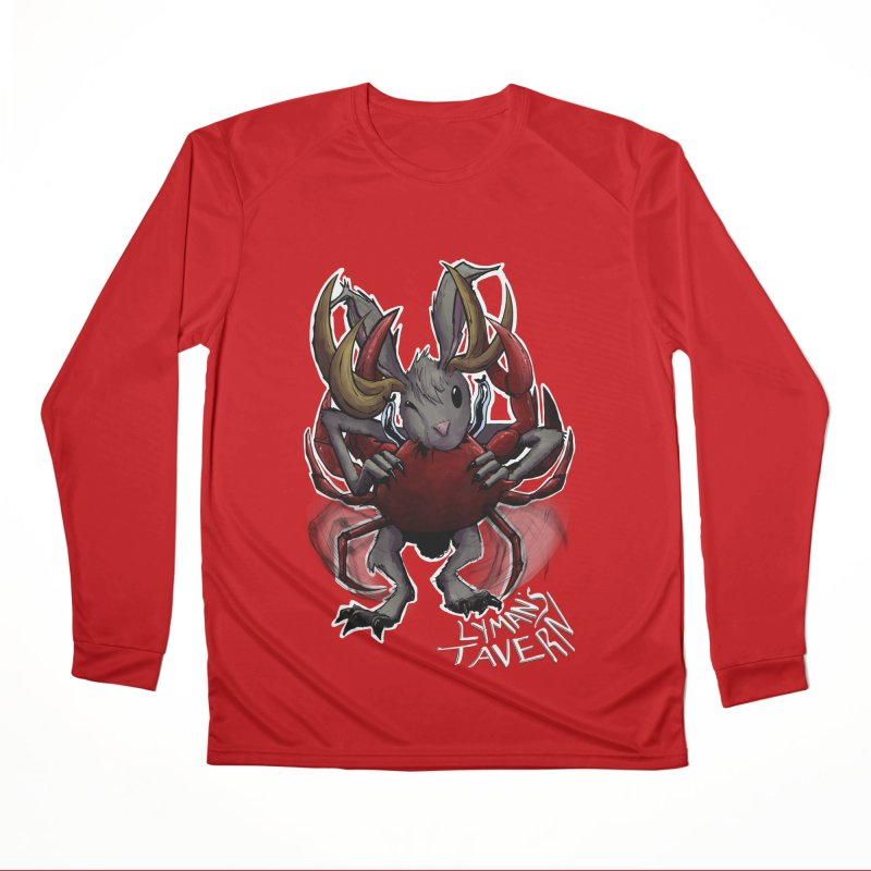 Jackelope and Crab Men's Performance Longsleeve T-Shirt by Lymans Tavern