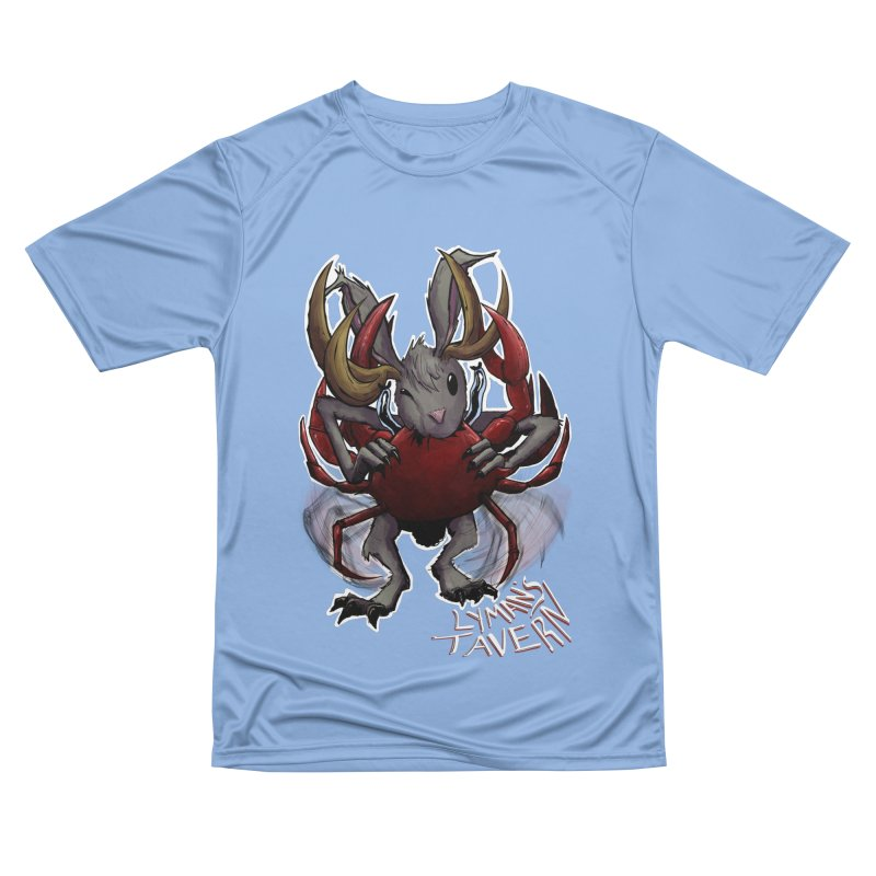 Jackelope and Crab Women's Performance Unisex T-Shirt by Lymans Tavern