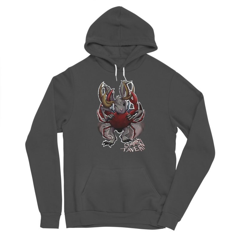 Jackelope and Crab Men's Sponge Fleece Pullover Hoody by Lymans Tavern
