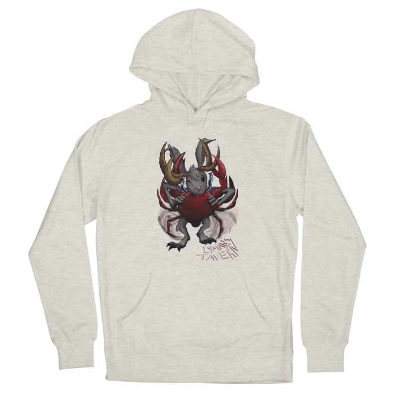Jackelope and Crab Men's French Terry Pullover Hoody by Lymans Tavern