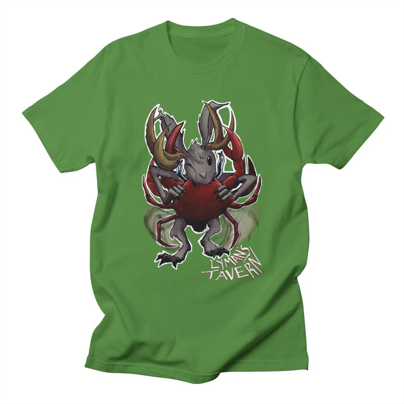 Jackelope and Crab Men's Regular T-Shirt by Lymans Tavern