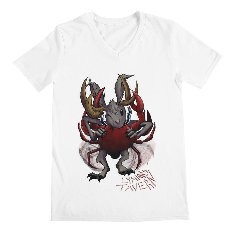 Jackelope and Crab Men's V-Neck by Lymans Tavern