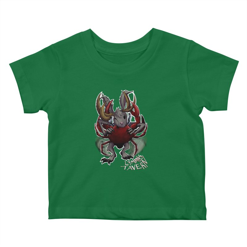 Jackelope and Crab Kids Baby T-Shirt by Lymans Tavern
