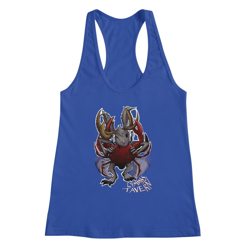 Jackelope and Crab Women's Racerback Tank by Lymans Tavern