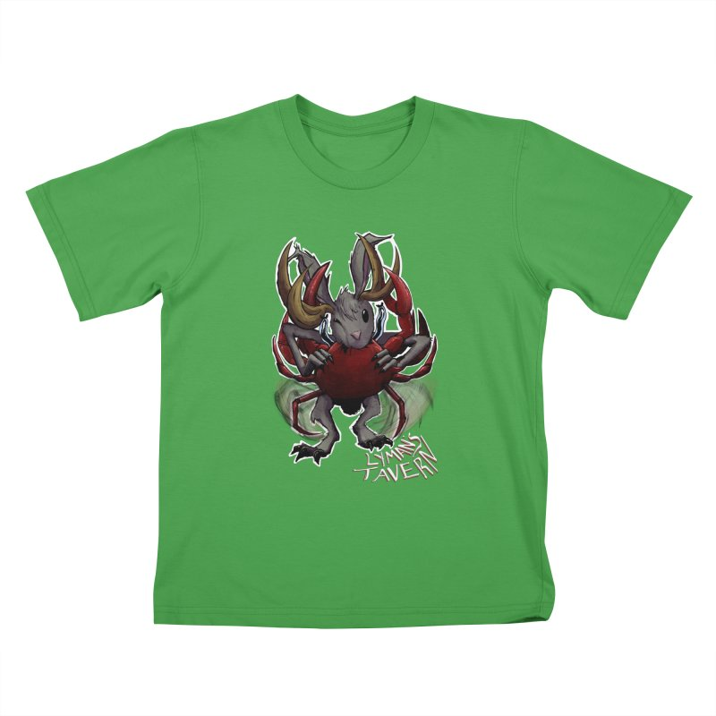 Jackelope and Crab Kids T-Shirt by Lymans Tavern