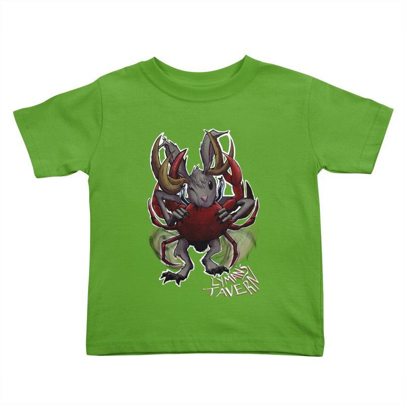 Jackelope and Crab Kids Toddler T-Shirt by Lymans Tavern