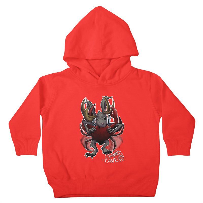 Jackelope and Crab Kids Toddler Pullover Hoody by Lymans Tavern