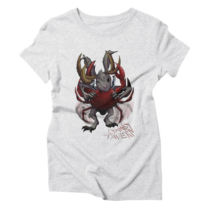 Jackelope and Crab Women's T-Shirt by Lymans Tavern