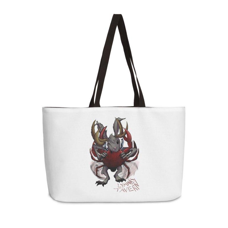 Jackelope and Crab Accessories Weekender Bag Bag by Lymans Tavern