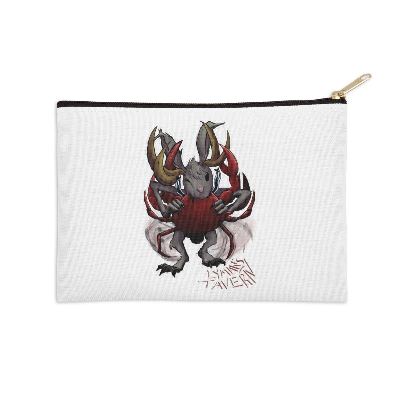 Jackelope and Crab Accessories Zip Pouch by Lymans Tavern