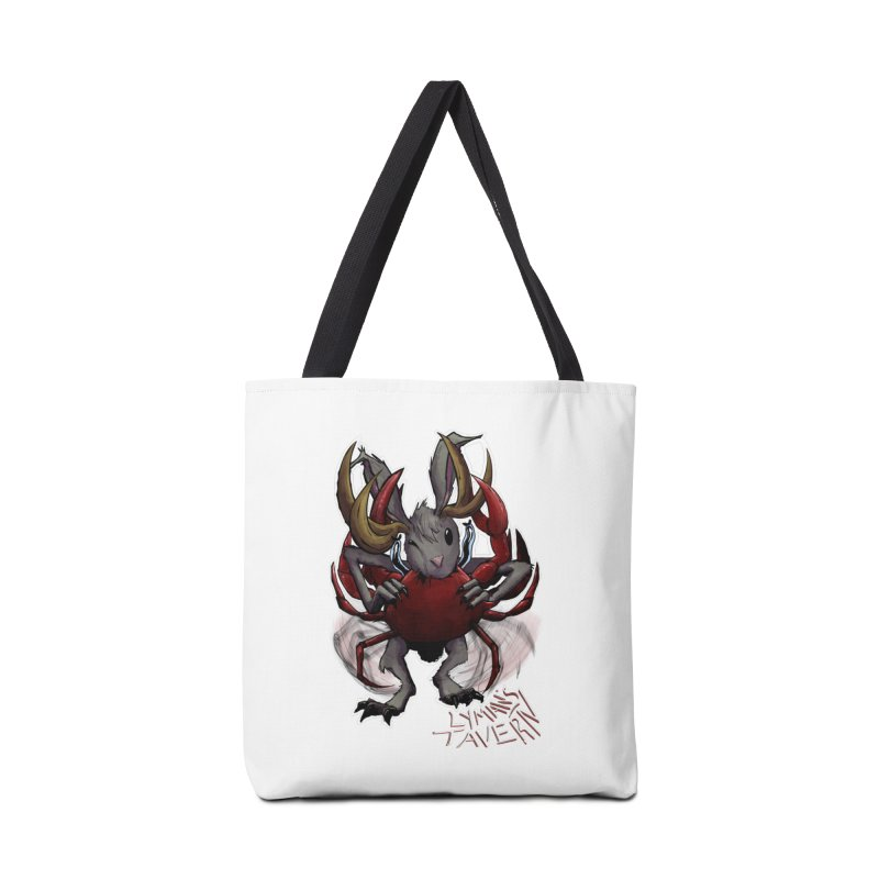 Jackelope and Crab Accessories Bag by Lymans Tavern