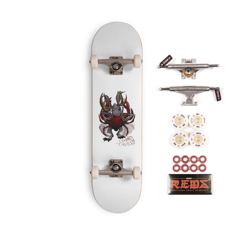 Jackelope and Crab Accessories Complete - Pro Skateboard by Lymans Tavern