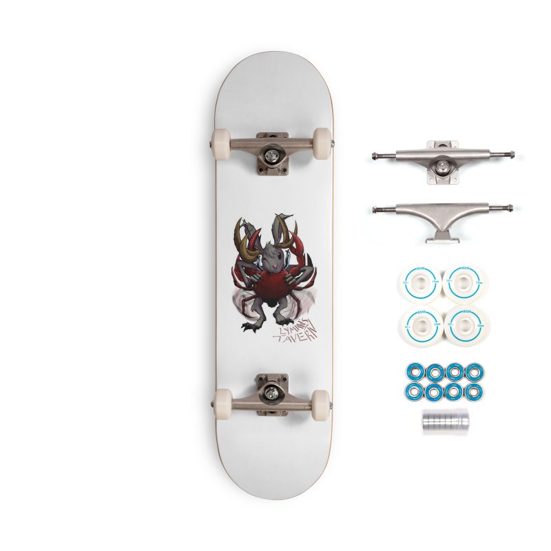 Jackelope and Crab Accessories Complete - Basic Skateboard by Lymans Tavern