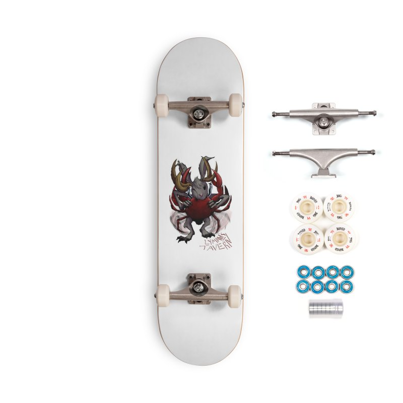 Jackelope and Crab Accessories Complete - Premium Skateboard by Lymans Tavern