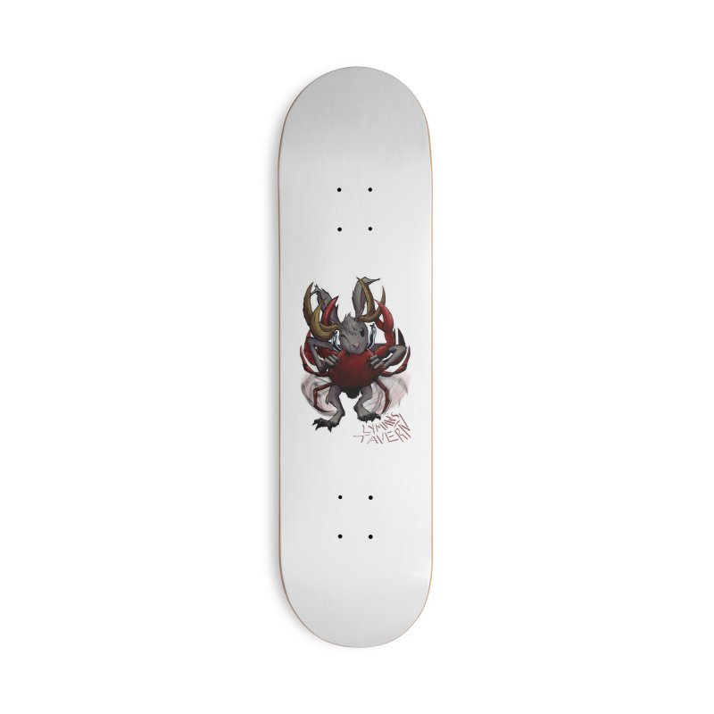 Jackelope and Crab Accessories Skateboard by Lymans Tavern
