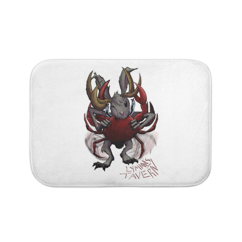 Jackelope and Crab Home Bath Mat by Lymans Tavern