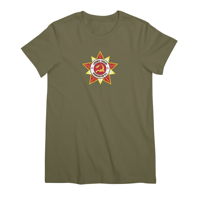Lyman's Badge 3 Women's Premium T-Shirt by Lymans Tavern