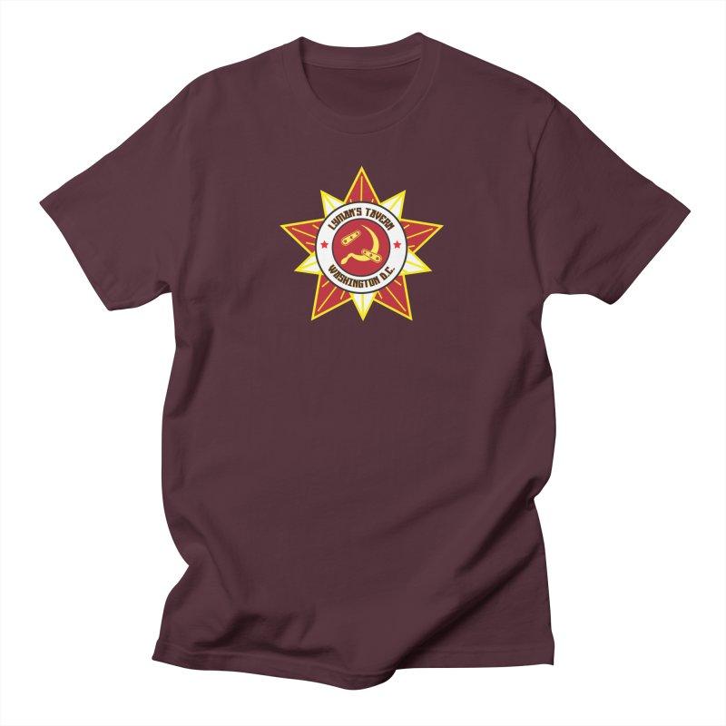 Lyman's Badge 3 Men's T-Shirt by Lymans Tavern