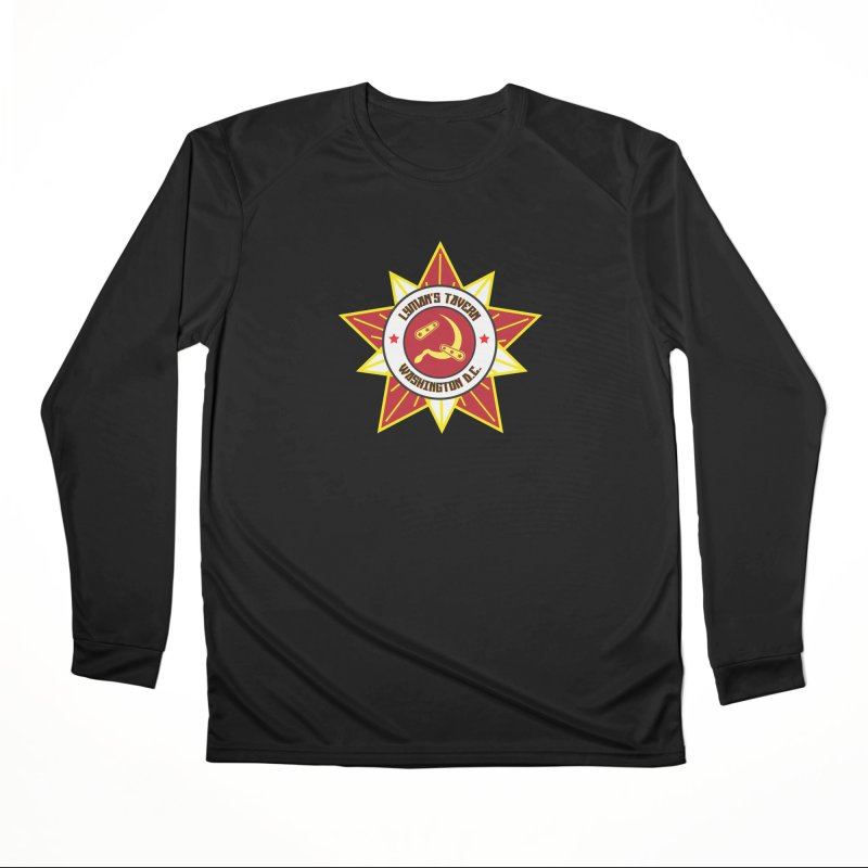 Lyman's Badge 3 Men's Performance Longsleeve T-Shirt by Lymans Tavern