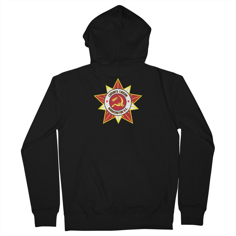 Lyman's Badge 3 Women's French Terry Zip-Up Hoody by Lymans Tavern
