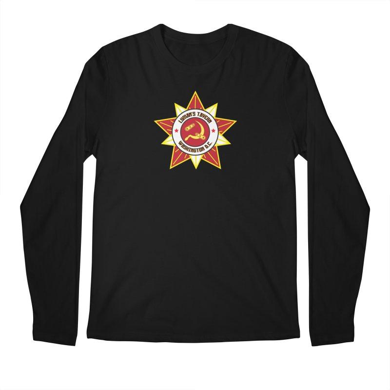 Lyman's Badge 3 Men's Regular Longsleeve T-Shirt by Lymans Tavern