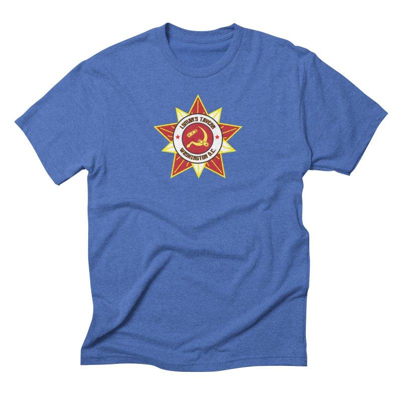 Lyman's Badge 3 Men's Triblend T-Shirt by Lymans Tavern