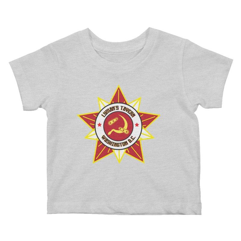 Lyman's Badge 3 Kids Baby T-Shirt by Lymans Tavern