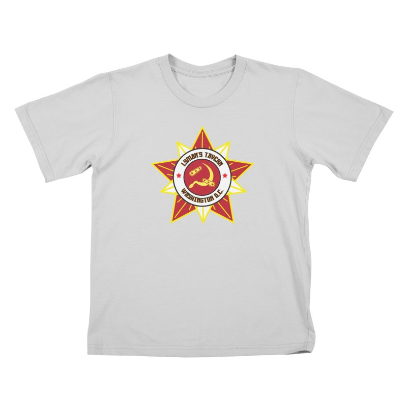 Lyman's Badge 3 Kids T-Shirt by Lymans Tavern