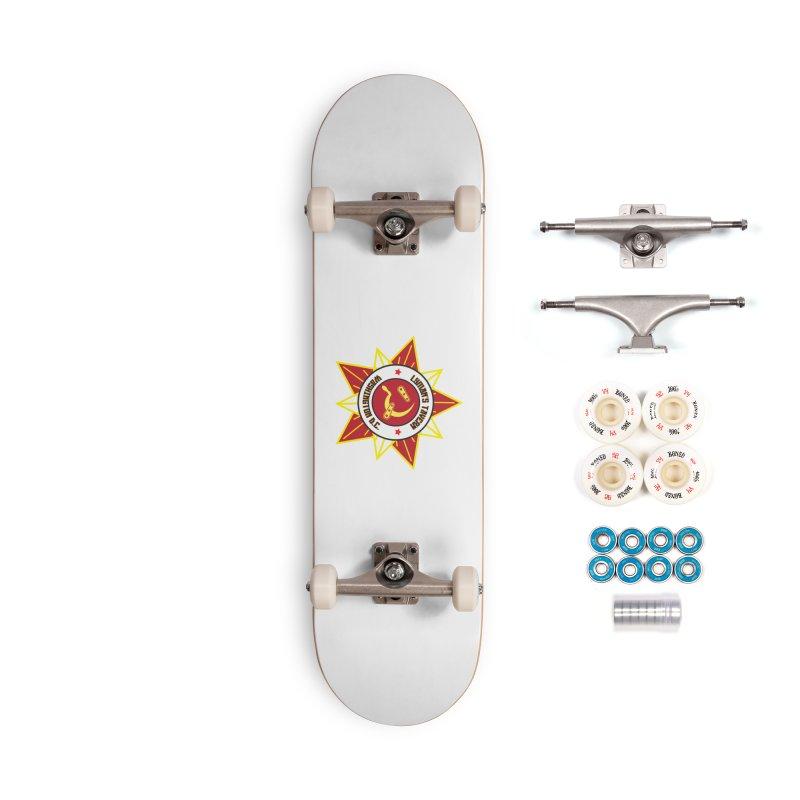 Lyman's Badge 3 Accessories Complete - Premium Skateboard by Lymans Tavern