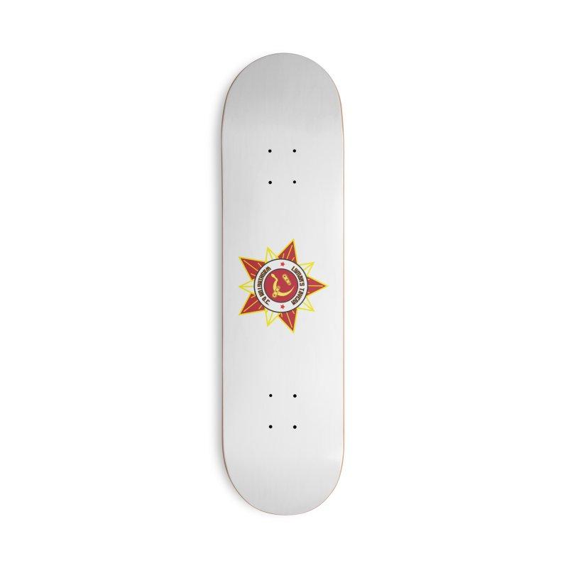 Lyman's Badge 3 Accessories Deck Only Skateboard by Lymans Tavern