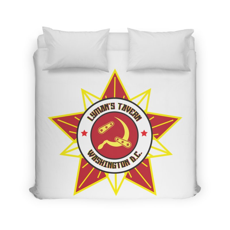 Lyman's Badge 3 Home Duvet by Lymans Tavern