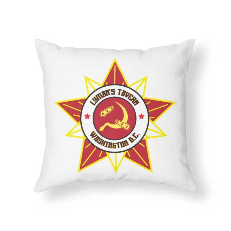 Lyman's Badge 3 Home Throw Pillow by Lymans Tavern