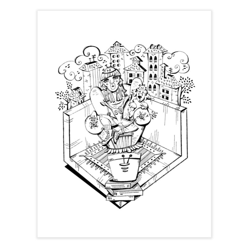 love is ... Home Fine Art Print by MARIAGRACIA's Artist Shop