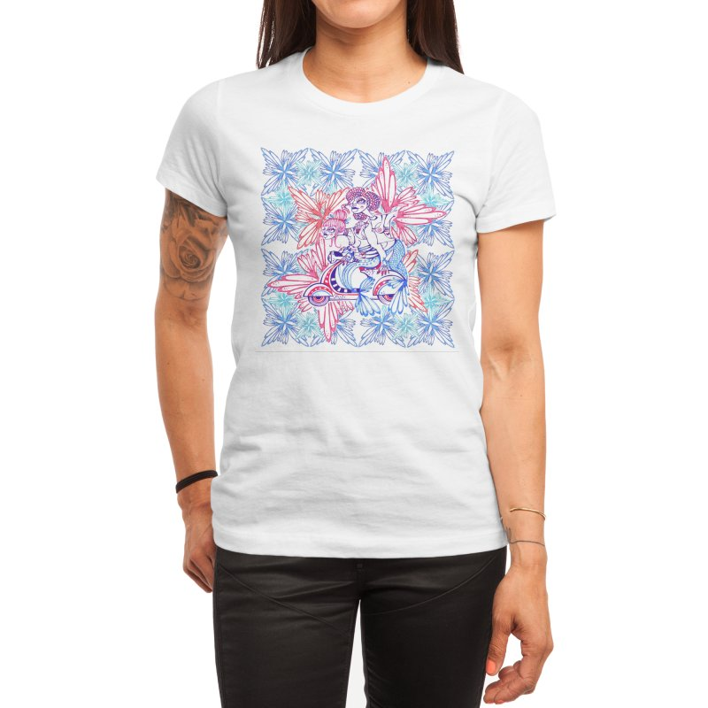 Mermaids Women's T-Shirt by MARIAGRACIA's Artist Shop