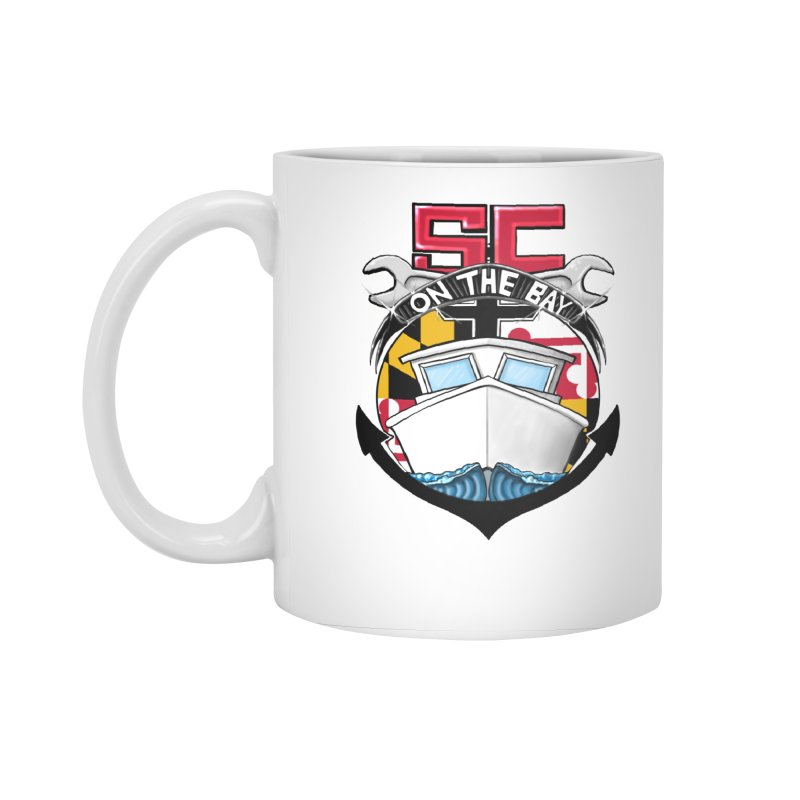 SC on the Bay Accessories Standard Mug by MD Design Labs's Artist Shop