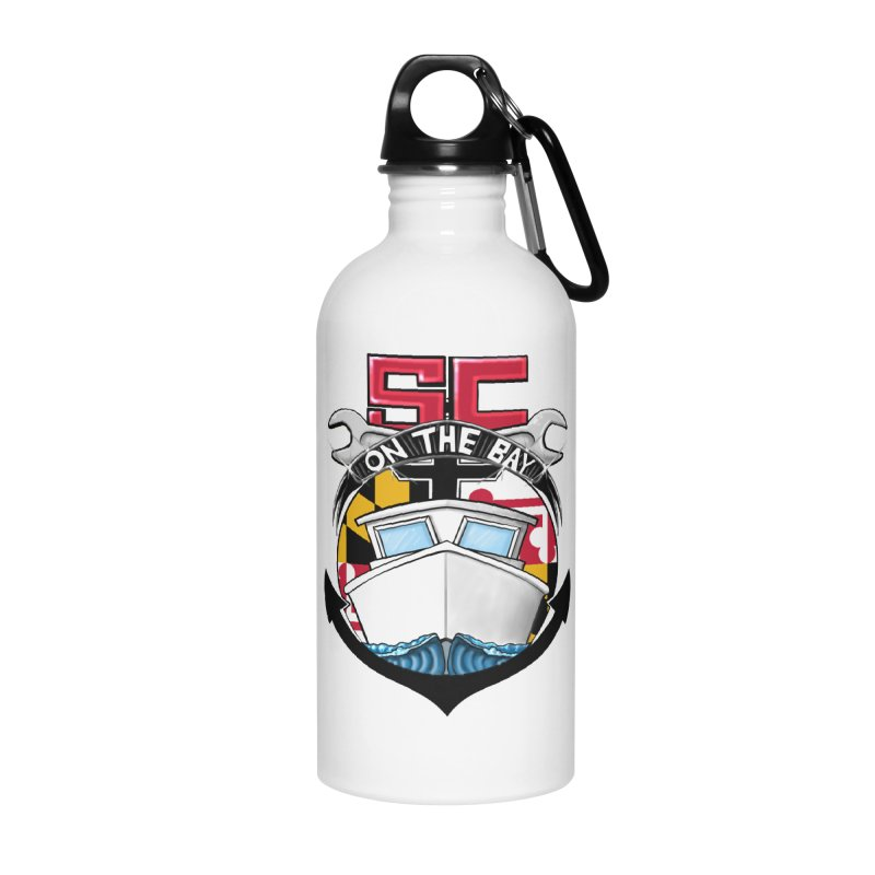 SC on the Bay Accessories Water Bottle by MD Design Labs's Artist Shop