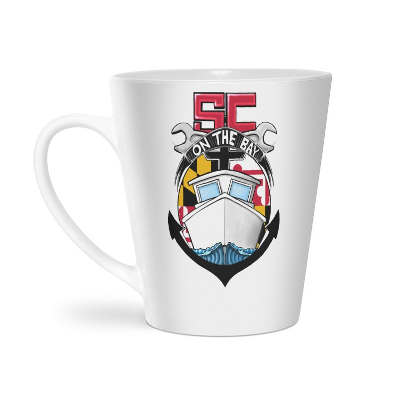 SC on the Bay Accessories Latte Mug by MD Design Labs's Artist Shop