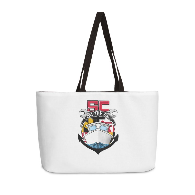 SC on the Bay Accessories Weekender Bag Bag by MD Design Labs's Artist Shop