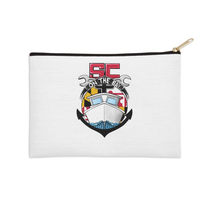 SC on the Bay Accessories Zip Pouch by MD Design Labs's Artist Shop