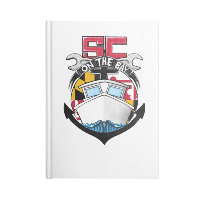 SC on the Bay Accessories Lined Journal Notebook by MD Design Labs's Artist Shop