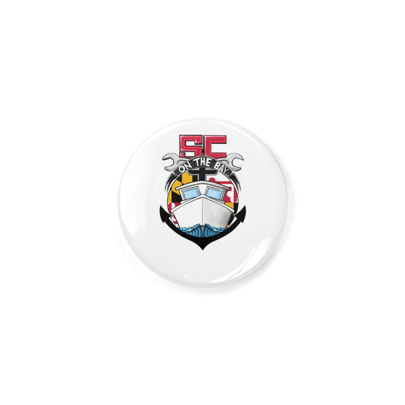 SC on the Bay Accessories Button by MD Design Labs's Artist Shop