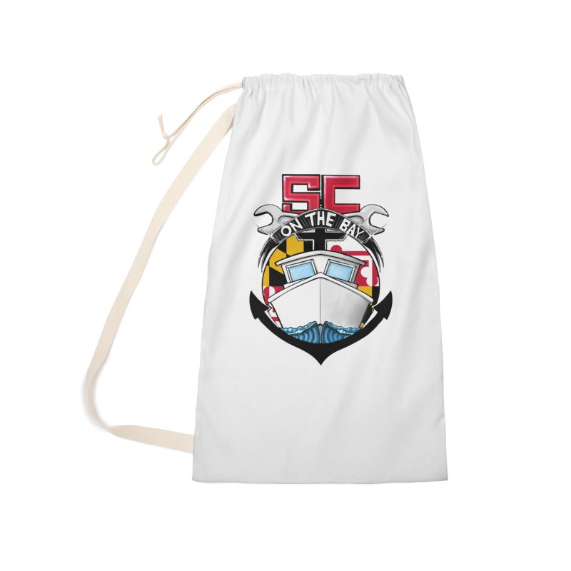SC on the Bay Accessories Laundry Bag Bag by MD Design Labs's Artist Shop